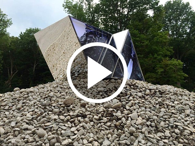 "Video documentation of ""#6250"", from the Exo Series, commissioned by the Katonah Museum of Art"