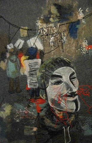 Under the Guy Fawkes Mask
