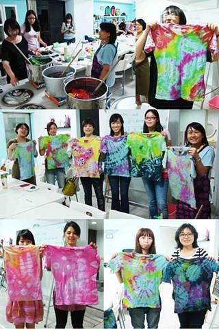 Tie-dye T-shirt Workshop