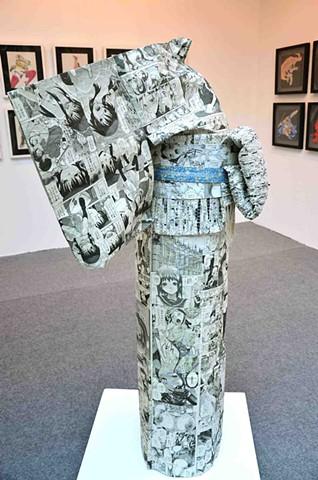 Knot Covering- Kimono No.2