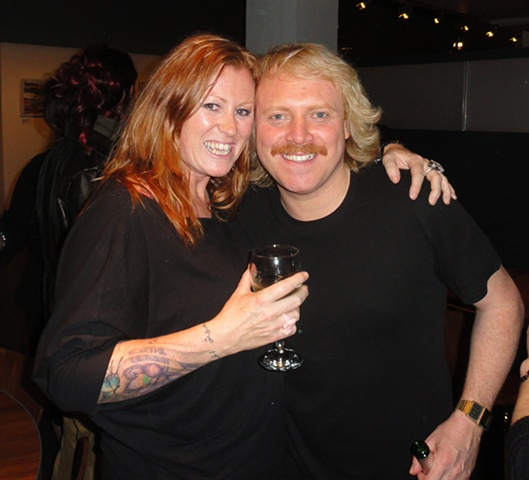 Keith Lemon and I at the Celebrity Juice after Party in London April 2012