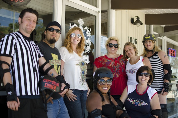 Highland Ink sponsors South Coast Roller Derby