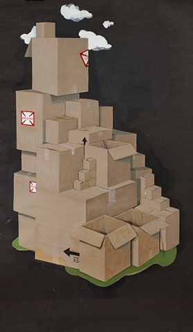 """Plot #9 """"Home, the Boxes"""""""