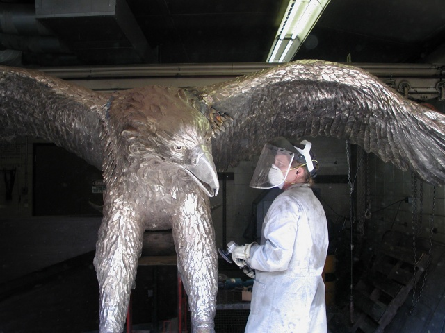 Eagle before patina application