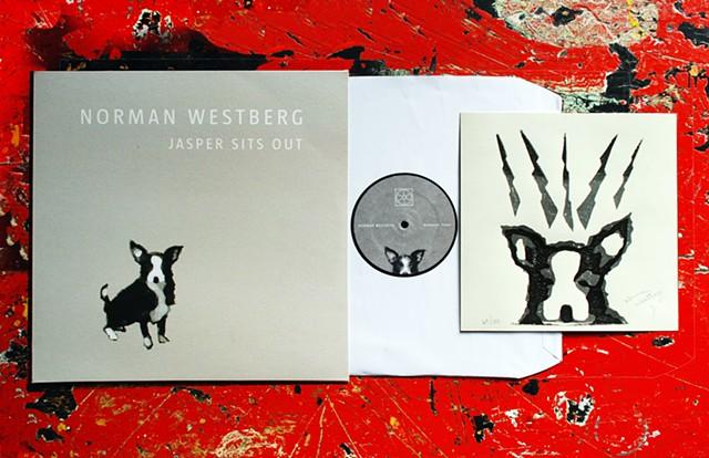 Jasper Sits Our Vinyl