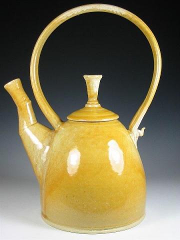 Yellow Cone Teapot