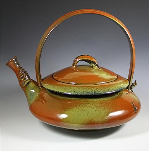 Red Ash Teapot