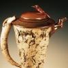 Textured Cone Teapot