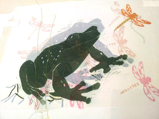 Japanese Woodblock Print, Urauchi & Textile Workshop - Three Day Class