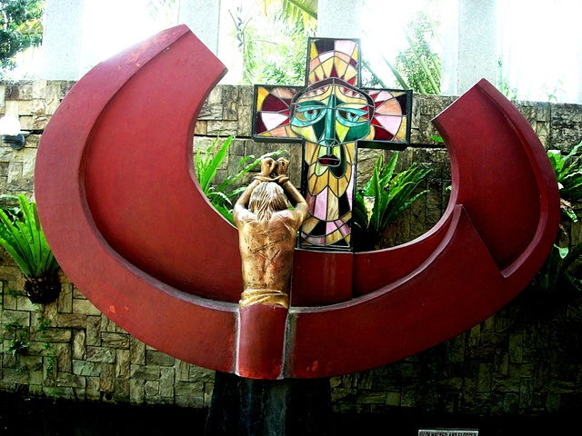 Toym Imao, Church, Chapel, Marikina City, Our Lady of the Magnificat Chapel, Marist, Stations of the Cross