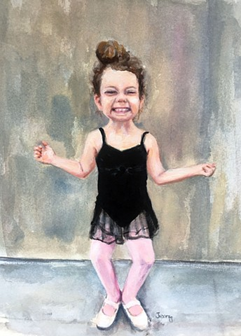 ballet, painting, portraits