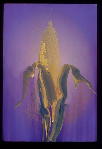 corn science realism abstraction