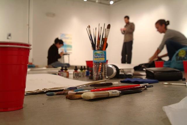 Gallery preparation