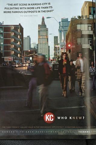 Visit KC promotional campaign for the downtown council of Kansas City, Missouri