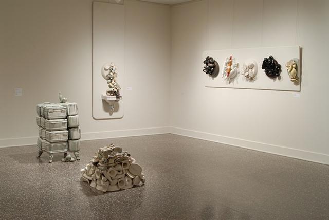 MFA Thesis Show, installation view