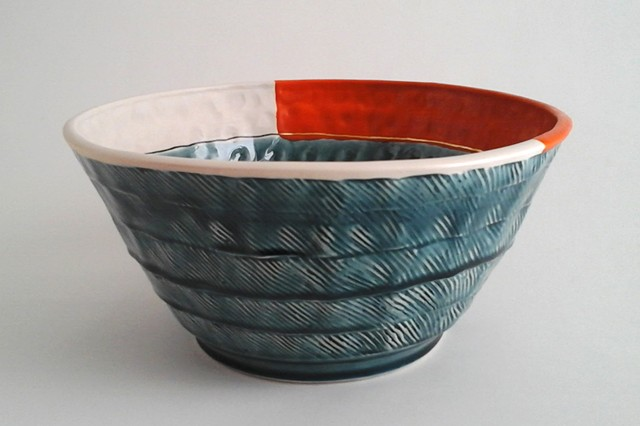 Large Bowl w/Orange #1