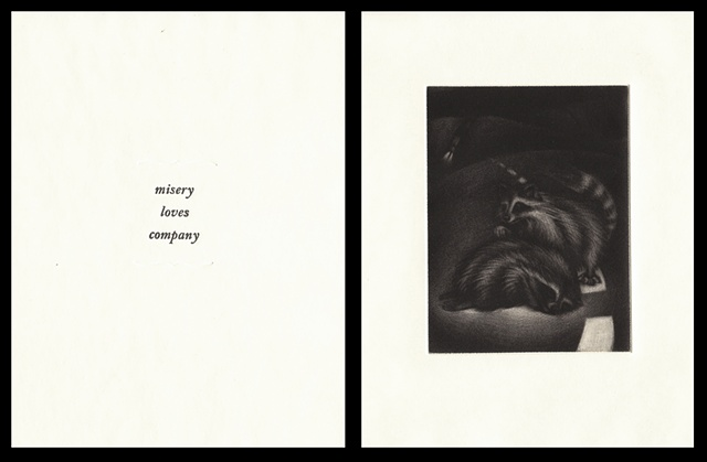 "plate two:  ""misery loves company""  2006"