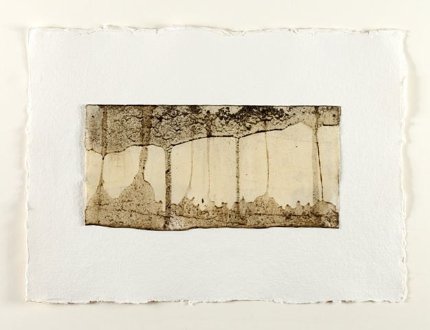 Mud and Beeswax on paper