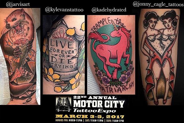 Tribute tattoo parlor for Tattoo parlors grand rapids