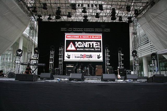 IGNITE! 2010 LED Wall Logo