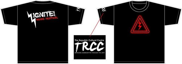 IGNITE! 2009 T-shirt design