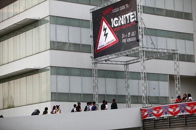 IGNITE! 2009 Entrance banner