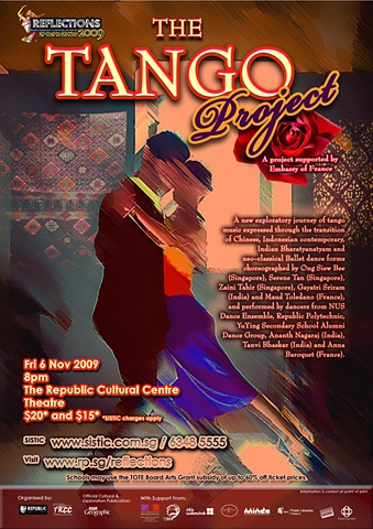 Reflections 2008 Tango Project Poster