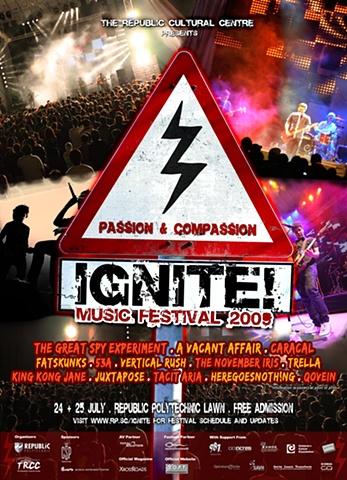 IGNITE! 2009 Poster