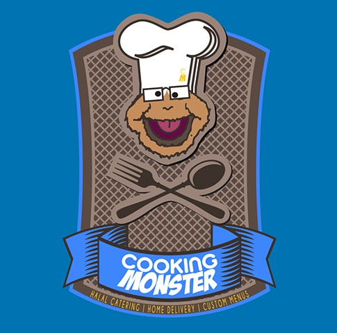 Cooking Monster Logo