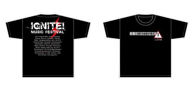 IGNITE! 2010 T-shirt Design