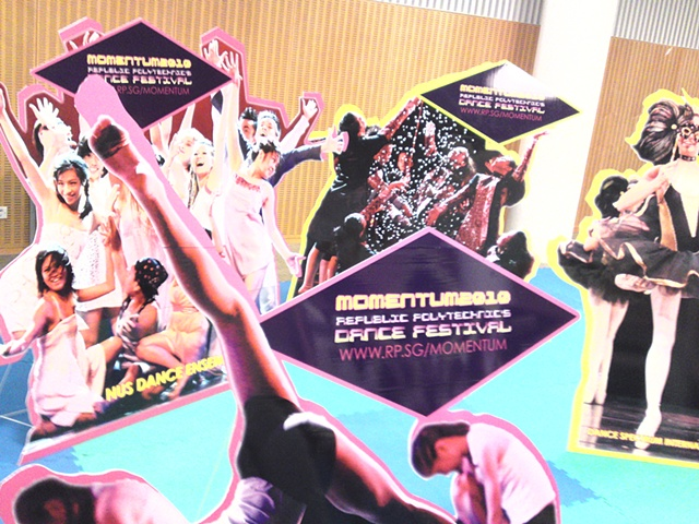 Momentum 2010 Life-sized Standees