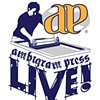 Ambigram Press Live! Logo Design