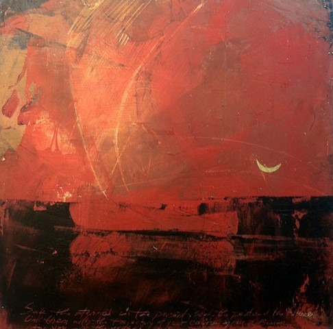 Vessel Series Red Sky Seek the Eternal in the Present...
