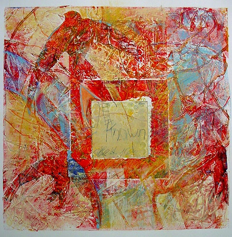 Known Intimately collograph