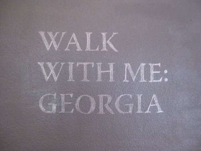 Walk with me : Georgia (installation)