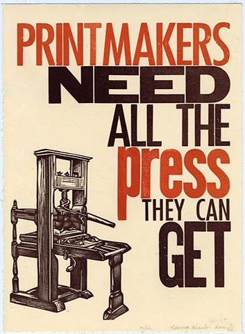 Printmakers Need All The Press They Can Get