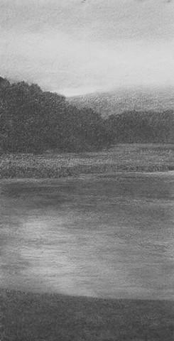 katherine meyer drawing charcoal humboldt mendocino california