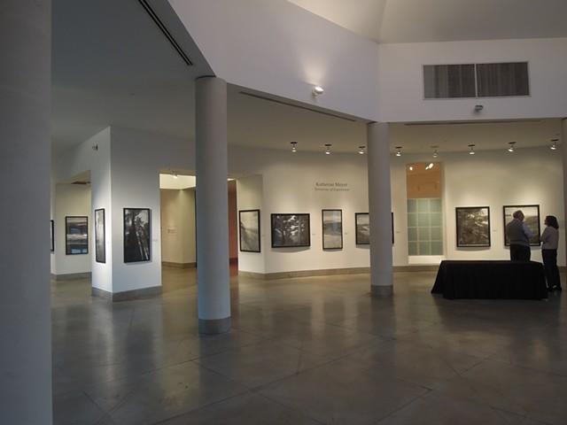 Katherine Meyer drawing charcoal Triton Museum Santa Clara