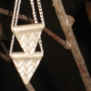 triangle &amp; silver chain