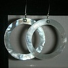 white shell hoops