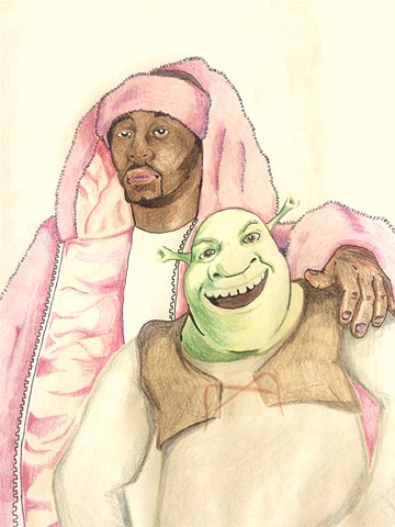 CAM AND SHREK