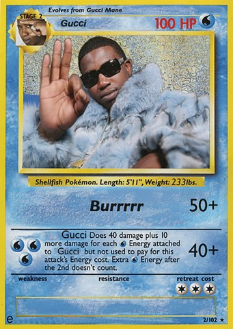 Gucci Pokemon