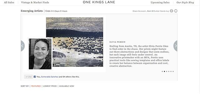 One Kings Lane Collaboration