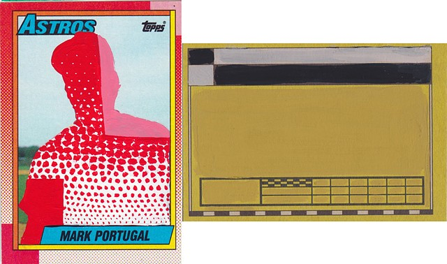 '90 Topps Mark Portugal
