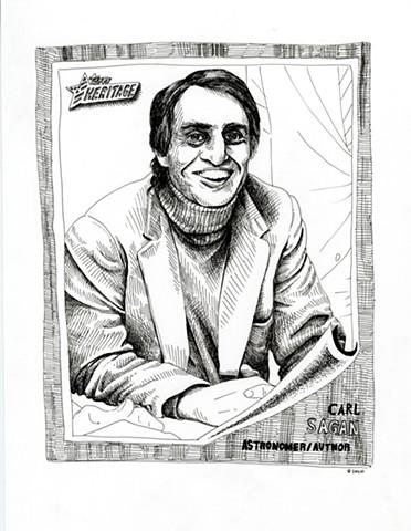 Carl Sagan (Topps 2009)