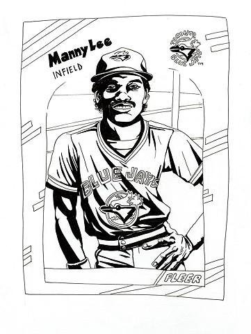 Manny Lee (Fleer 1988)