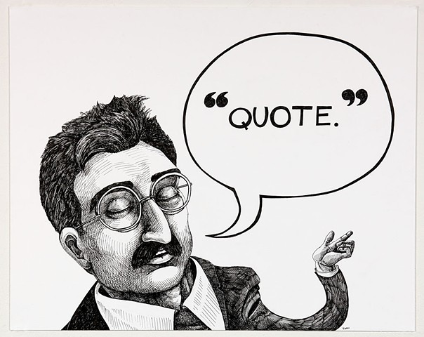 A direct quotation from Walter Benjamin (translated from the German).