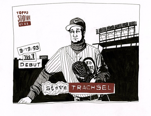 Steve Trachsel (Topps 1994)