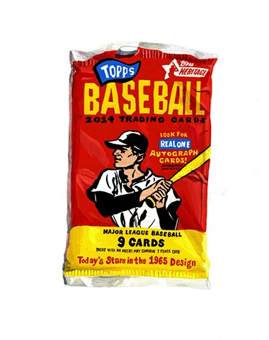 Topps package (2014)