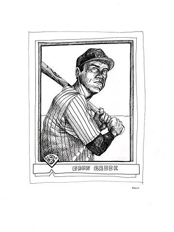 Greg Brock (Bowman 1991)